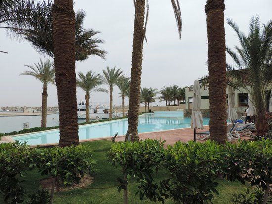 Marina Lodge at Port Ghalib : Untere Poolanlage