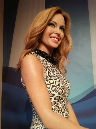 Madame Tussauds London: Kylie Minogue