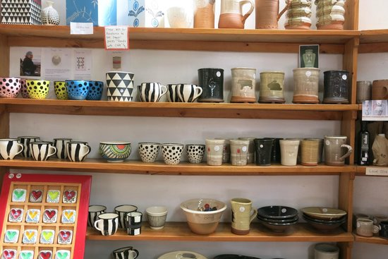 Driving Creek Railway and Potteries: Pottery