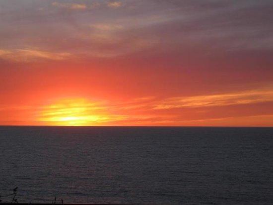 Villa Olivia: Sunset