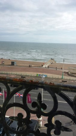 Mercure Brighton Seafront Hotel: Sea view