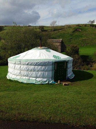 Keld Bunkbarn: Our Yurt