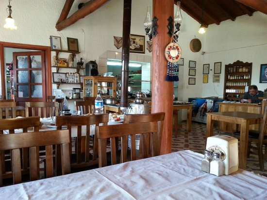 Koy Sofrasi: The cozy ambiance inside.