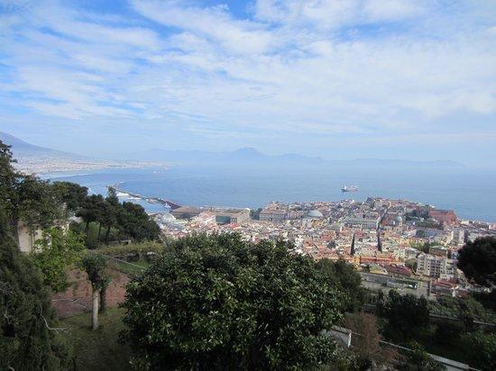 Certosa e Museo di San Martino Napoli: panorama dal giardino