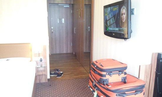 Derag Livinghotel Dusseldorf: walk in