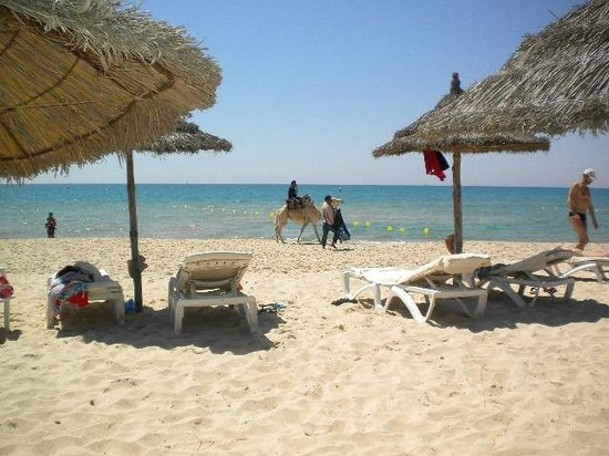 Marhaba Palace Hotel : Beach area