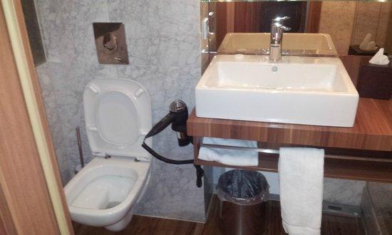Derag Livinghotel Dusseldorf : toilet