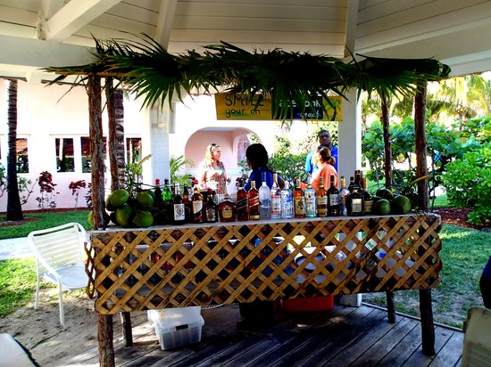 Taino by the Sea: Captain's Meeting in the pavilion