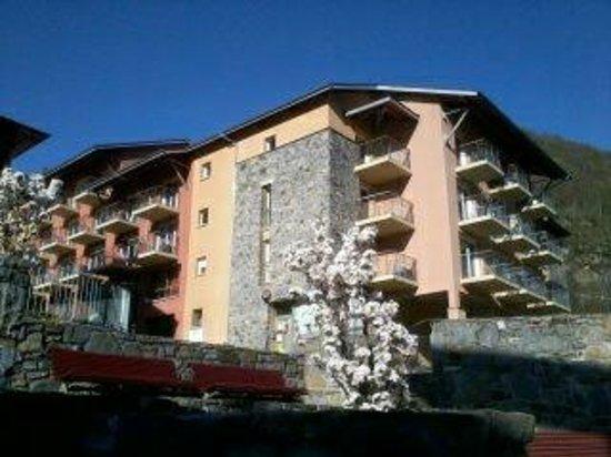 Nemea Residence Les Grands Ax: vu de la residence