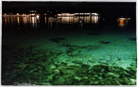 Mellieha Bay Hotel : Hotel at night....