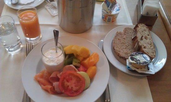 Hotel St. Gotthard: Breakfast at St. Gotthard