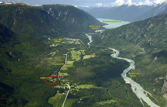 Bella Coola Valley: West end of Highwy 20