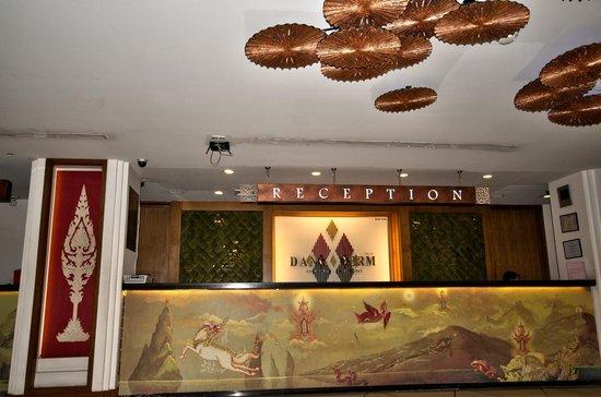 Dang Derm Hotel : entree reception