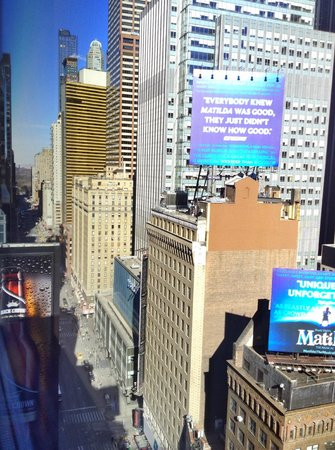 Renaissance New York Times Square Hotel: View from room