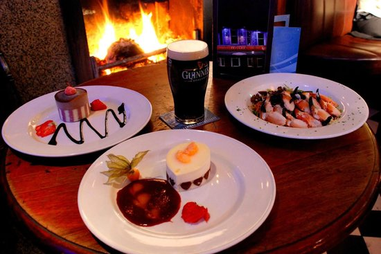O'Hares Newcastle: Great Food by the Fire