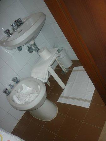Hotel Maxim: bagno da 2 mq.