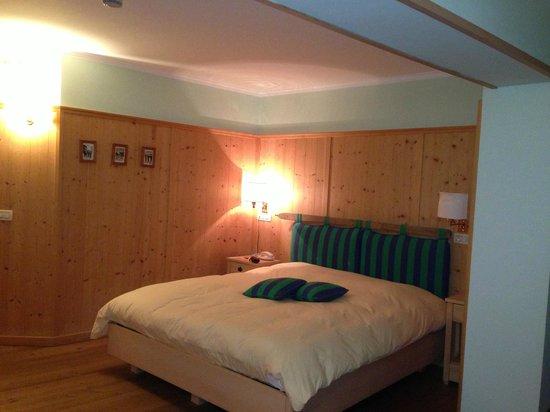 Valbruna Inn: My room.