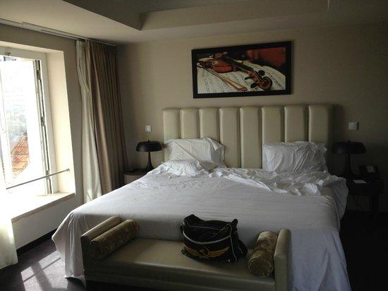 Hotel do Chiado: la chambre