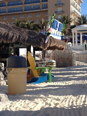 Golden Parnassus All Inclusive Resort & Spa Cancun: Dolphin Bar