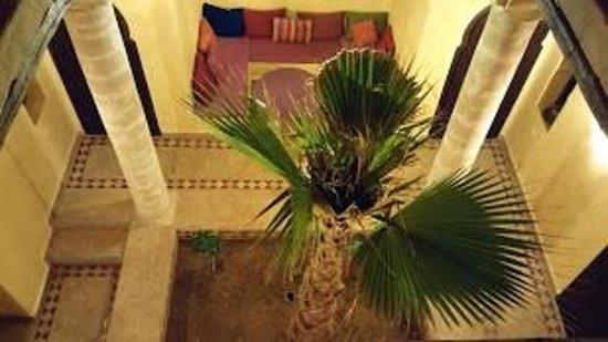 Villa Gonatouki: La patio vu de la chambre prestige