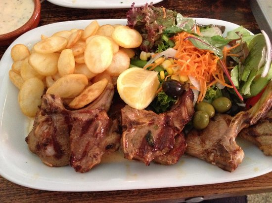 Clube Portugues: Grilled Lamb