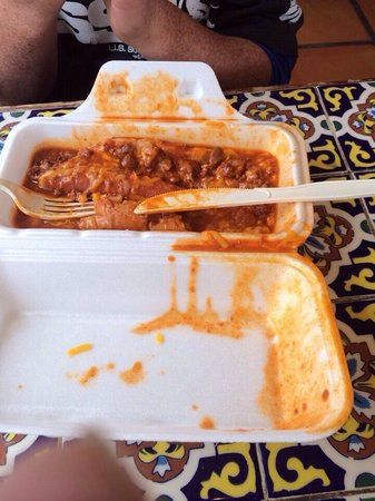 Chili Hot Dog To Die For Picture Of El Parasol Pojoaque Tripadvisor