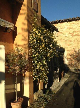 Cap de Castel : Restaurant entrance