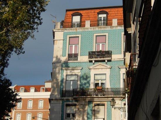 Hotel do Chiado : une façade