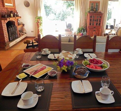 CatorceOnce Bed & Breakfast: Desayuno