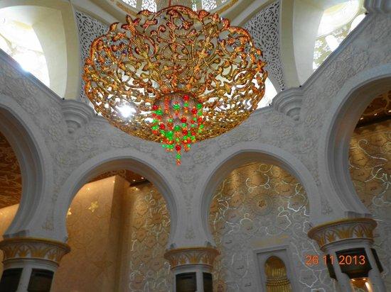 "Mosquée Cheikh Zayed : Люстра ""сваровски"""