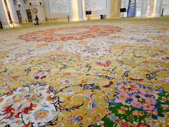 Mosquée Cheikh Zayed : Ковер