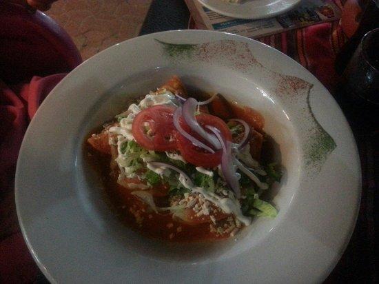 La Vagabunda: Heerlijke enchiladas