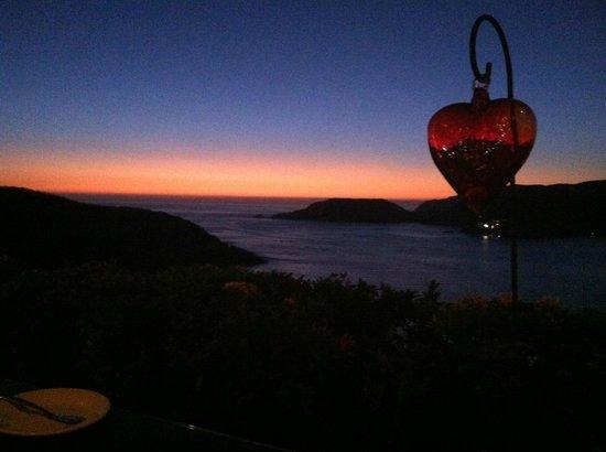 El Suspiro Restaurante : Just after sunset
