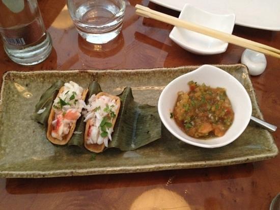Momo: entradinha de Crab deliciosa!