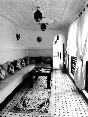 Le Pavillon Oriental: Zona relax