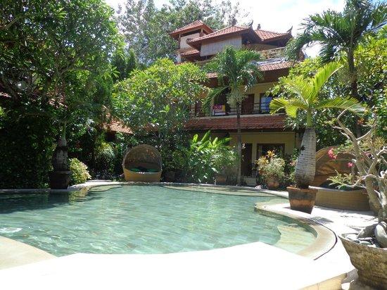 Kusnadi Hotel : Pool area