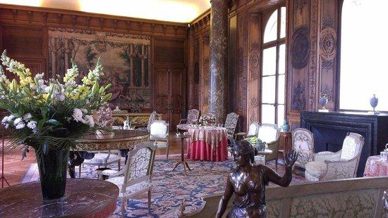 Château de Bizy : Le grand salon