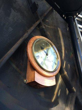 Lizard Lighthouse Heritage Center: :izard master clock