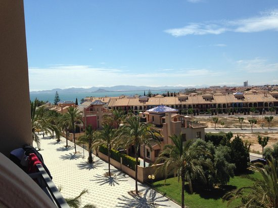 Hotel Costa Narejos: Balcony view