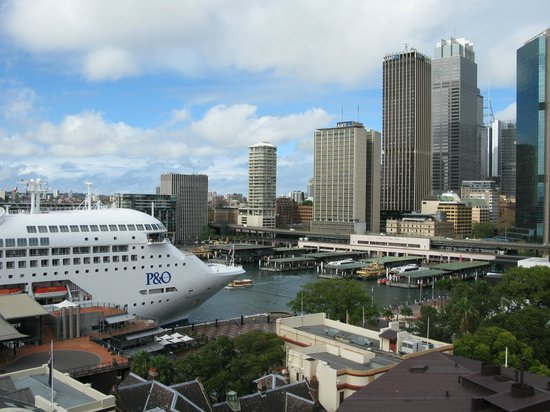 Circular Quay from Holiday Inn Old Sydney Roof Top