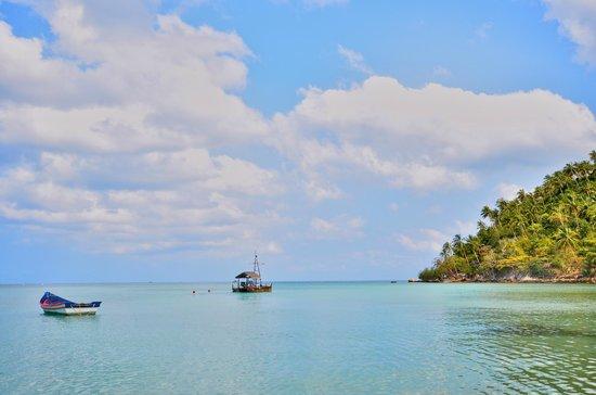 Salad Beach: beautiful sea view