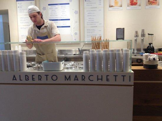 Alberto Marchetti : Un gelato da favola