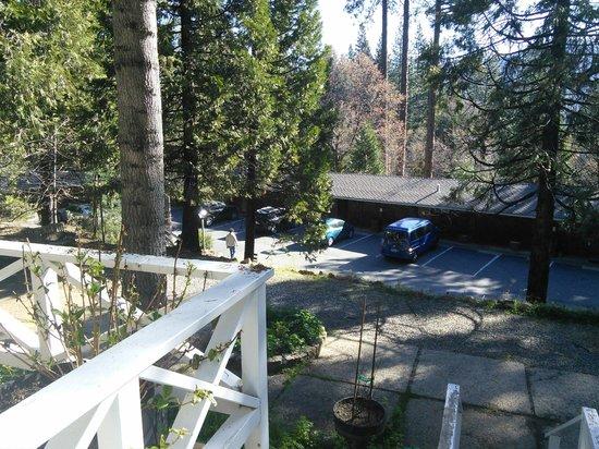 Narrow Gauge Inn: view from the deck