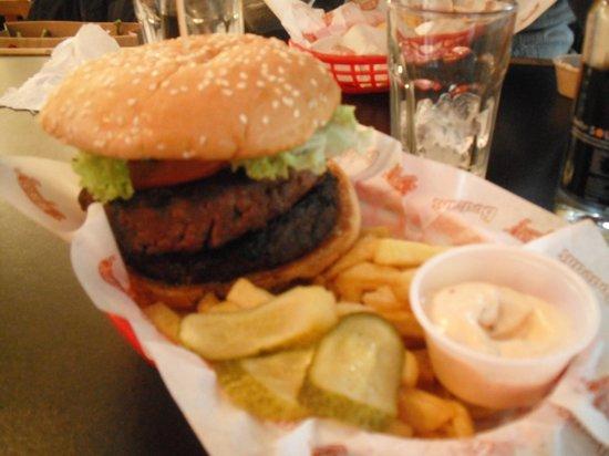Bodean's BBQ - Soho: Hamburger da 16 oz (500 gr)