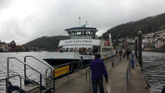 Dartmouth Steam Railway and River Boat Company: going back to the train