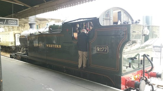 Dartmouth Steam Railway and River Boat Company: Train that pulled us
