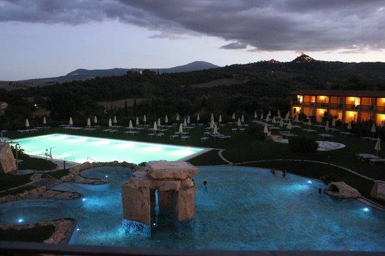 Hotel Adler Thermae Spa & Relax Resort: Vista dalla terrazza del bar