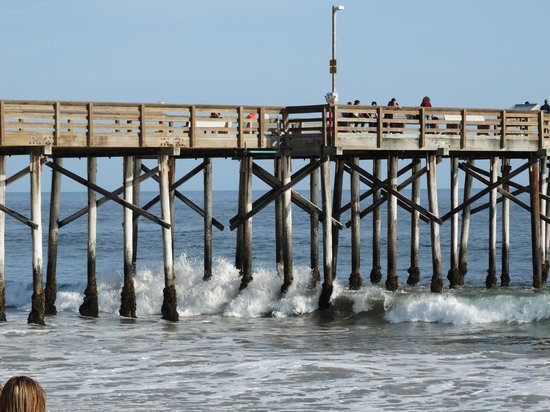 Balboa Inn: The Pier, which has Rubys at the End.