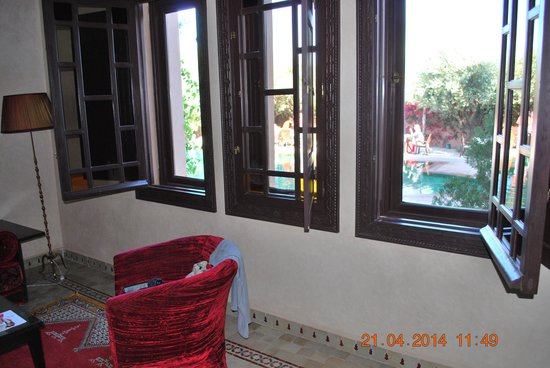 Al Fassia Aguedal : vista dalla suite Sidi 2