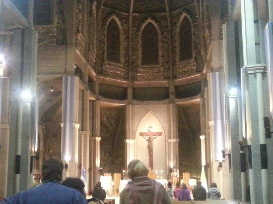 Catedral de San Carlos de Bariloche : interior de la Catedral